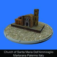 Church of Santa Maria Dell'Ammiraglio Martorana Palermo Italy - Paola Stirati