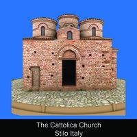 The Cattolica Church Stilo Italy - Paola Stirati