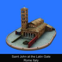 Saint John at the Latin Gate Rome Italy - Paola Stirati