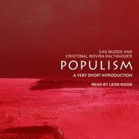 Populism - Cristoball Rovira Kaltwasser, Cas Mudde
