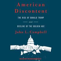 American Discontent - John L. Campbell