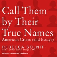 Call Them By Their True Names: American Crises (and Essays) - Rebecca Solnit