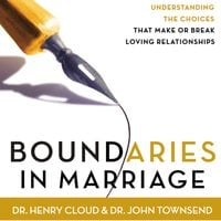 Boundaries in Marriage - John Townsend,Henry Cloud