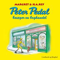 Peter Pedal besøger en boghandel - H.A. Rey, Margret Rey