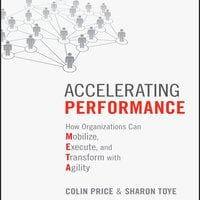 Accelerating Performance: How Organizations Can Mobilize, Execute, and Transform with Agility - Colin Price,Sharon Toye
