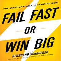 Fail Fast or Win Big: The Start-Up Plan for Starting Now - Bernhard Schroeder
