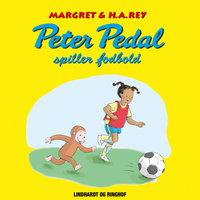 Peter Pedal spiller fodbold - Margret Og H.a. Rey
