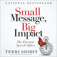 Small Message, Big Impact - Terri L. Sjodin