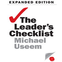 The Leader's Checklist Expanded Edition - Michael Useem
