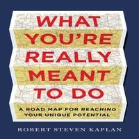 What You're Really Meant To Do: A Road Map for Reaching Your Unique Potential - Robert D. Kaplan