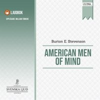 American Men of Mind - Burton E. Stevenson