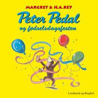 Peter Pedal og fødselsdagsfesten - H.A. Rey