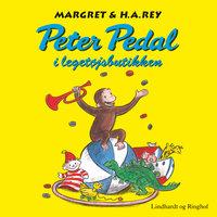 Peter Pedal i legetøjsbutikken - H.A. Rey