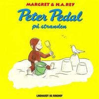 Peter Pedal på stranden - H.A. Rey