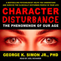Character Disturbance - George K. Simon