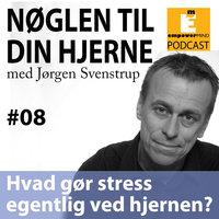 S1E8 - Hvad gør stress ved hjernen? - Jørgen Svenstrup