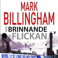 Den brinnande flickan - Mark Billingham