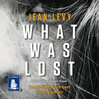 What Was Lost - Jean Levy