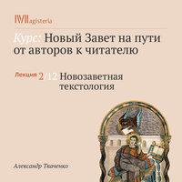 Новозаветная текстология - Александр Ткаченко