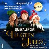 Flugten til Juleø - 1. december - Anne-Marie Donslund, Trine Bundsgaard