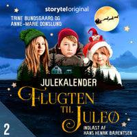 Flugten til Juleø - 2. december - Anne-Marie Donslund,Trine Bundsgaard