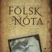 Fölsk nóta - Ragnar Jónasson
