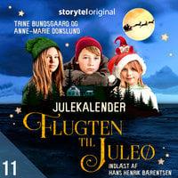 Flugten til Juleø - 11. december - Anne-Marie Donslund,Trine Bundsgaard