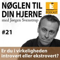 S2E8 - Er du i virkeligheden intro- eller ekstrovert? - Jørgen Svenstrup