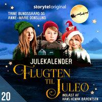 Flugten til Juleø - 20. december - Anne-Marie Donslund, Trine Bundsgaard