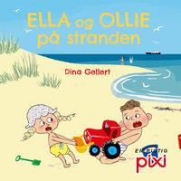Ella og Ollie på stranden - Dina Gellert