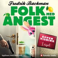 Folk med ångest - Fredrik Backman