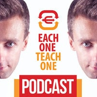 Podcast - #10 Each One Teach One - Masaż jako sposób na szczęśliwe życie - Michał Plewniak