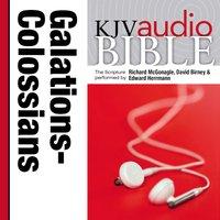 Pure Voice Audio Bible - King James Version, KJV: (34) Galatians, Ephesians, Philippians, and Colossians - Zondervan