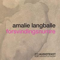 Forsvindingsnumre - Amalie Langballe