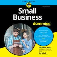 Small Business For Dummies - Eric Tyson,Jim Schell