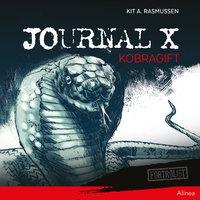 Journal X - Kobragift - Kit A. Rasmussen