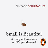 Small Is Beautiful: A Study of Economics as if People Mattered - E F Schumacher