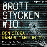 Brottstycken - Den stora rånarligan, del 2 - Fredrik Hardenborg