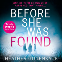 Before She Was Found - Heather Gudenkauf