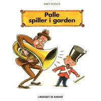 Palle spiller i garden - Jørn Jensen