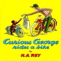 Curious George Rides A Bike - H.A. Rey