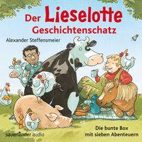 Der Lieselotte Geschichtenschatz: Die bunte Box mit sieben Abenteuern - Alexander Steffensmeier