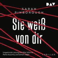 Sie weiß von dir - Sarah Pinborough