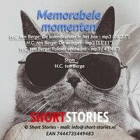 Memorabele momenten - H.C. ten Berge