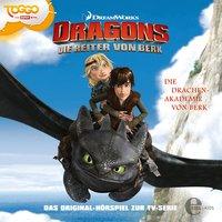 Dragons. Die Reiter von Berk - Folge 1: Die Drachen-Akademie von Berk / Der arbeitslose Wikinger - Thomas Karallus