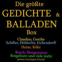 Die Größte Gedichte Und Balladen Box 800 Meisterwerke