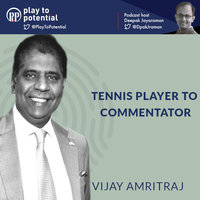 Transitioning from playing sports to commenting - Deepak Jayaraman