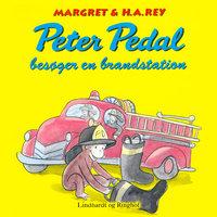 Peter Pedal besøger en brandstation - H.A. Rey
