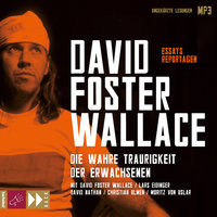 Die wahre Traurigkeit der Erwachsenen - David Foster Wallace