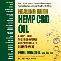 Healing with Hemp CBD Oil - Earl Mindell